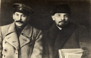 Vladimir Lenin and Joseph Stalin 1919-13-700x452